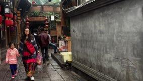Via nella contea di Fenghuang archivi video