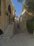 Via nella parte antica di Giaffa Immagine Stock