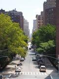 Via a New York Fotografia Stock Libera da Diritti