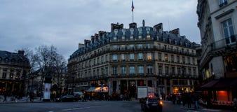 Via a Parigi Immagini Stock