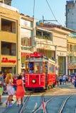 Via pedonale di Istiklal a Costantinopoli Fotografie Stock Libere da Diritti