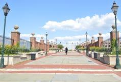 Via pedonale in Filadelfia immagine stock libera da diritti