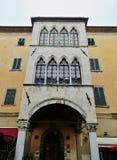 Via a Pisa, Italia immagine stock