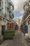 Via posteriore di Singapore Fotografia Stock Libera da Diritti