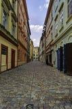 Via a Praga Fotografia Stock Libera da Diritti