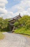 Via principal do castelo de Yamato Koriyama, Japão Imagem de Stock