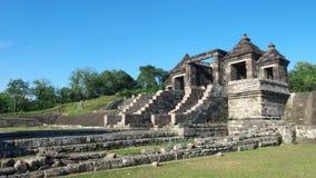 Via principal do palácio do boko do ratu Imagem de Stock