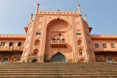 Via principal, do taj - ul - masjid, bhopal, Madhya Pradesh, Índia fotos de stock royalty free
