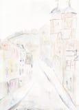 Via principale di Guildford Immagine Stock