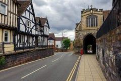 Via principale di Warwick Fotografia Stock