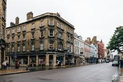 Via principale a Oxford Fotografia Stock Libera da Diritti