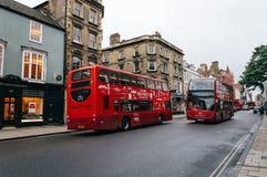Via principale a Oxford Fotografie Stock Libere da Diritti