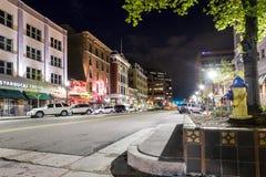 Via principale in primavera di Colorado, CO, U.S.A. Fotografia Stock Libera da Diritti