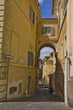 Via Roma Fotografia Stock