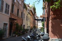 Via a Roma Immagine Stock Libera da Diritti