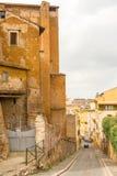 Via a Roma, Italia Fotografie Stock Libere da Diritti