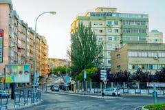 Via romantica di Lisbona Immagini Stock Libere da Diritti