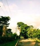 Via rurale immagini stock libere da diritti
