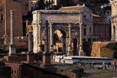Via Sacra in Rome Stock Image