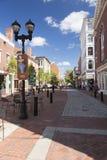 Via Salem Massachusetts di Essex Fotografie Stock