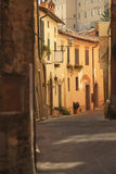 Via a Siena, Toscana Fotografia Stock