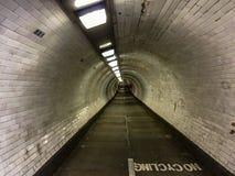 Via sotterranea di Greenwich Fotografia Stock Libera da Diritti