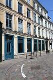 Via storica a Lille, Francia Fotografia Stock