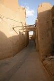 Via stretta di vecchia citt? di Yazd della parte Fotografia Stock