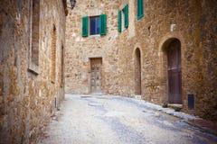 Via stretta a Ravenna Fotografie Stock