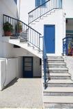 Via in Paros Fotografia Stock