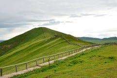 Via sulla montagna Fotografia Stock Libera da Diritti
