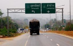 Via tailandese Immagine Stock