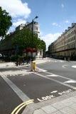 Via tipica di Londra Immagini Stock