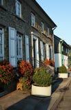 Via tipica nella vecchia città pittoresca di Beyenburg Immagine Stock Libera da Diritti