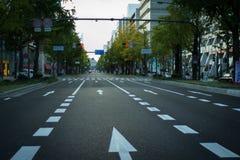 Via Tokyo Fotografia Stock Libera da Diritti