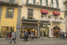 Via Toledo,Naples Royalty Free Stock Photo