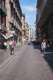 Via Toledo street in Naples Stock Photography