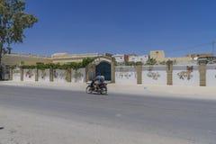 Via in Tunisia Immagini Stock