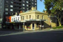 Via urbana del centro del centro urbano in Australia Fotografie Stock