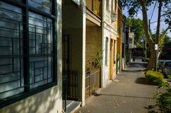 Via urbana del centro del centro urbano in Australia Immagine Stock