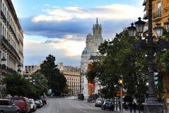 Via a Valencia, Spagna fotografia stock libera da diritti