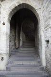 Via in vecchia città di Tallinn Fotografia Stock