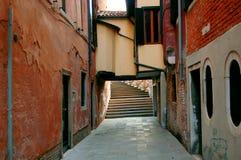 Via a Venezia immagini stock