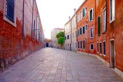 Via veneziana Immagine Stock