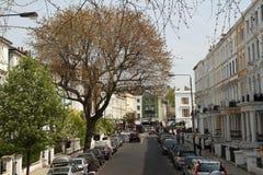 Via vittoriana - Londra - il Regno Unito fotografia stock