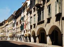 Via Vittorio Veneto, Udine Immagine Stock Libera da Diritti