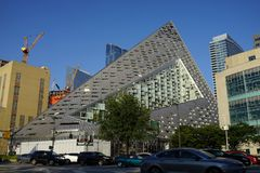 VIA 57 West 11. VIA 57 West marketed as VIΛ 57WEST is the name of a residential building designed by the Danish architecture firm Bjarke Ingels Group BIG. The Stock Images