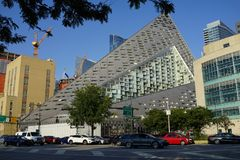 VIA 57 West 16. VIA 57 West marketed as VIΛ 57WEST is the name of a residential building designed by the Danish architecture firm Bjarke Ingels Group BIG. The Stock Photography