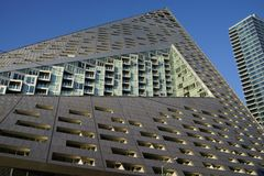 VIA 57 West 10. VIA 57 West marketed as VIΛ 57WEST is the name of a residential building designed by the Danish architecture firm Bjarke Ingels Group BIG. The Stock Image