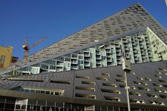VIA 57 West 15. VIA 57 West marketed as VIΛ 57WEST is the name of a residential building designed by the Danish architecture firm Bjarke Ingels Group BIG. The Stock Photo